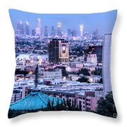 Yamashiro View Of La Throw Pillow
