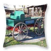 Yankee Candle Cart Throw Pillow