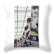 Yankee Flags Two Throw Pillow