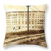 Yankee Stadium 1923 Throw Pillow
