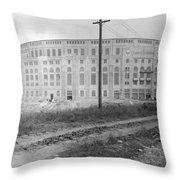 Yankee Stadium, 1923 Throw Pillow
