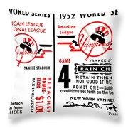 Yankees 4th Straight - Modern Throw Pillow