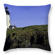 Yaquina Head Throw Pillow