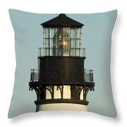 Yaquina Head Lighthouse 4 A Throw Pillow