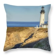 Yaquina Head Lighthouse 4 G Throw Pillow