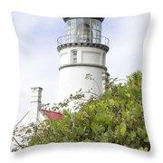Haceta Head Lighthouse 7 Throw Pillow