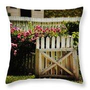 Yard Throw Pillow