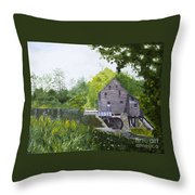 Yates Mill Summer Throw Pillow