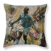 Yaya Toure Throw Pillow