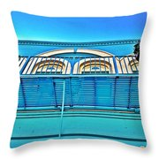 Yazoo City New Orleans Style Throw Pillow