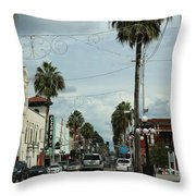 Ybor City Throw Pillow