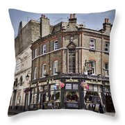Ye Old Rose And Crown Throw Pillow