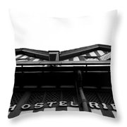 Ye Olde English Hostelrie Throw Pillow