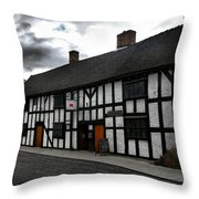 Ye Olde Pub Throw Pillow