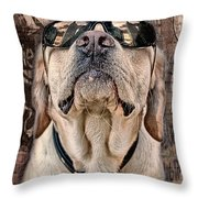 Yeah Man . . . This Is Really High Throw Pillow