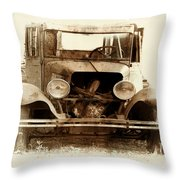 Years In The Mist Throw Pillow