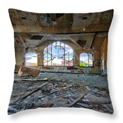 Years Of Abuse #1 Throw Pillow