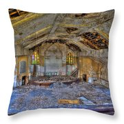 Years Of Abuse #2 Throw Pillow