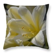 Yellow 8713 Throw Pillow