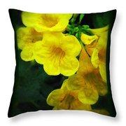 Yellow - Amarillo - Jaune Throw Pillow