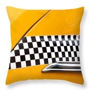 Yellow Cab - 4 Throw Pillow