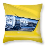 Yellow Charger 1520 Throw Pillow