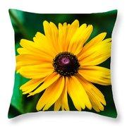 Yellow Flower - Featured 3 Throw Pillow