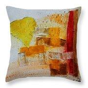 Yellow Love 3 Throw Pillow