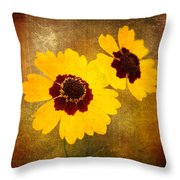Yellow Prize Throw Pillow