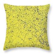 Yellow Street Throw Pillow