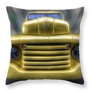 Yellow Peril Throw Pillow