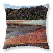 Yellowstone 27 Throw Pillow