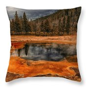 Yellowstone 3 Throw Pillow
