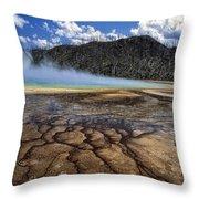 Yellowstone 6 Throw Pillow