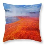 Yellowstone Basin Throw Pillow