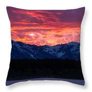 Yellowstone Beauty Throw Pillow