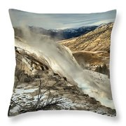 Yellowstone Canary Throw Pillow