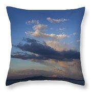 Yellowstone Lake   #1876 Throw Pillow