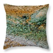 Yellowstone Living Thermometer Abstract Throw Pillow