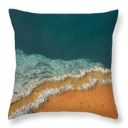 Yellowstone National Park - Hot Spring Throw Pillow