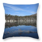 Yellowstone National Park - Mountain Lake Throw Pillow