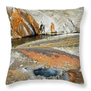 Yellowstone Small Crested Pool Throw Pillow