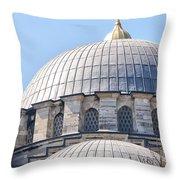 Yeni Cammii Mosque 05 Throw Pillow
