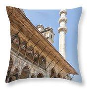 Yeni Cammii Mosque 11 Throw Pillow