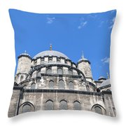 Yeni Cammii Mosque 12 Throw Pillow
