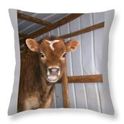 Yes I'm Talking To You Throw Pillow