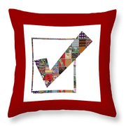 Yes Positive Symbol Showcasing Navinjoshi Gallery Art Icons Buy Faa Products Or Download For Self Pr Throw Pillow