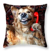 yes yes I know Throw Pillow
