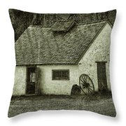 Yester Year Throw Pillow