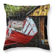 Yesterdays Treasures Throw Pillow by Camille Lopez